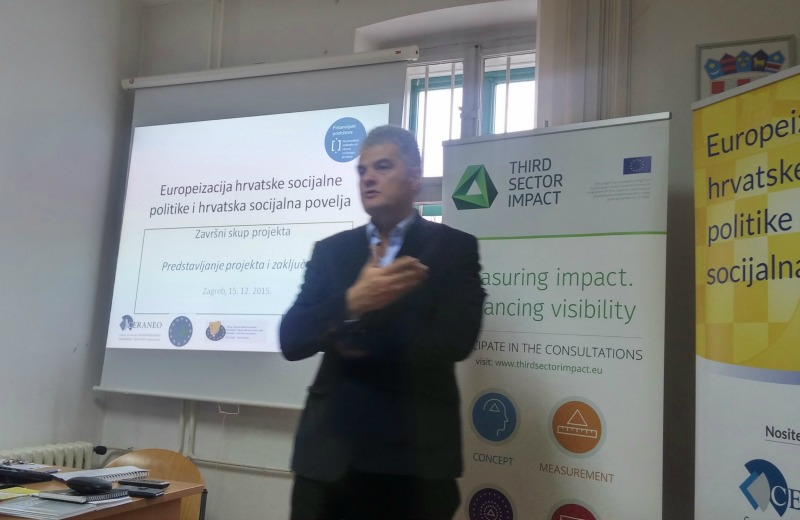 Second stakeholder meeting in Croatia on third sector barriers