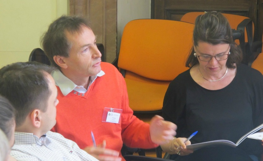 Discussing barriers with third sector networks in Rome, 7-8 April 2016