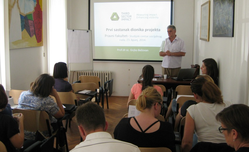 First TSI Meeting with National Stakeholders in Zagreb, Croatia