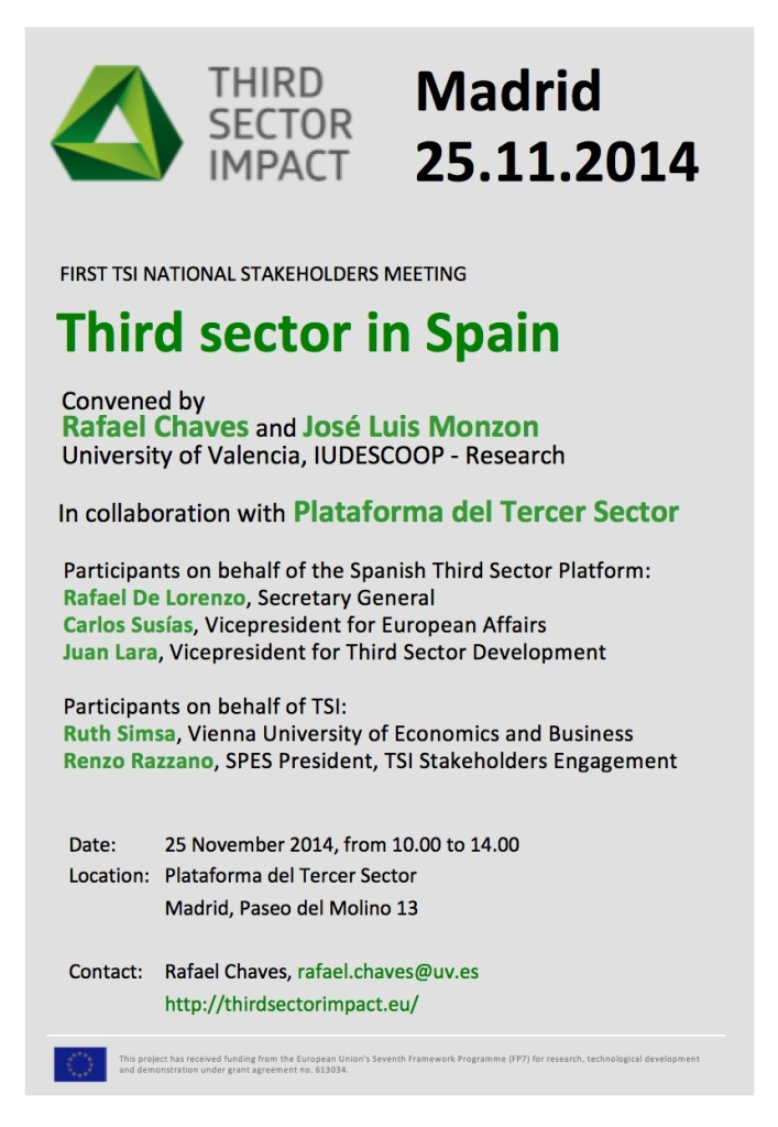 First TSI National Stakeholder Meeting in Spain